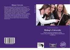 Bookcover of Bishop's University