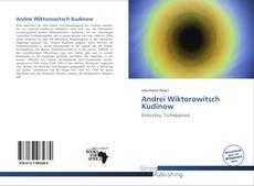 Обложка Andrei Wiktorowitsch Kudinow