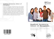 Bookcover of Bradford University School of Management