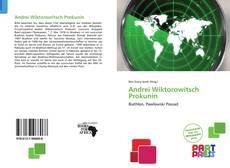Bookcover of Andrei Wiktorowitsch Prokunin