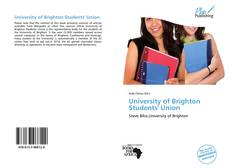 Bookcover of University of Brighton Students' Union