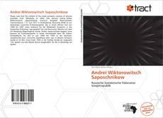 Andrei Wiktorowitsch Saposchnikow kitap kapağı