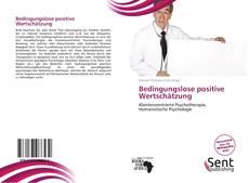 Buchcover von Bedingungslose positive Wertschätzung