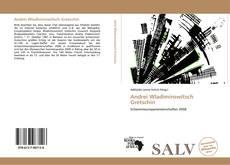 Bookcover of Andrei Wladimirowitsch Gretschin