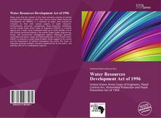 Couverture de Water Resources Development Act of 1996