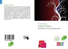 Capa do livro de Andrei Yafaev