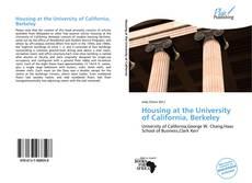 Housing at the University of California, Berkeley的封面
