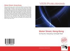 Capa do livro de Water Street, Hong Kong