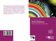 Bookcover of Andrej Kabjakou