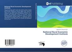 Buchcover von National Rural Economic Development Institute