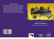 Bookcover of Andrej Kaufmann