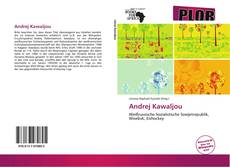 Bookcover of Andrej Kawaljou