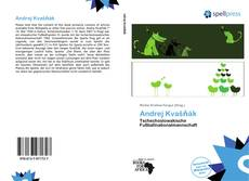 Bookcover of Andrej Kvašňák