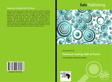 Capa do livro de National Sailing Hall of Fame