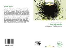 Andrej Mesin的封面