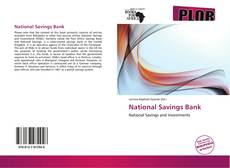 Buchcover von National Savings Bank