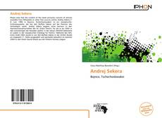 Bookcover of Andrej Sekera