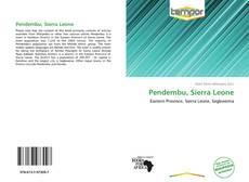 Обложка Pendembu, Sierra Leone