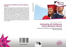 Bookcover of University of California, Santa Barbara Library