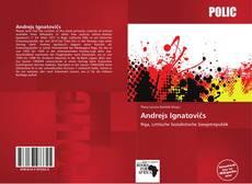 Capa do livro de Andrejs Ignatovičs