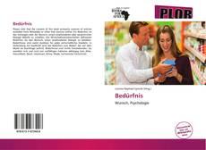 Capa do livro de Bedürfnis