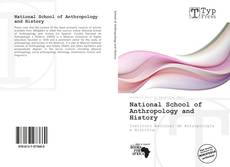 Bookcover of National School of Anthropology and History