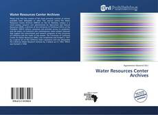 Bookcover of Water Resources Center Archives