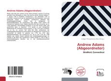 Bookcover of Andrew Adams (Abgeordneter)