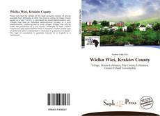 Wielka Wieś, Kraków County kitap kapağı