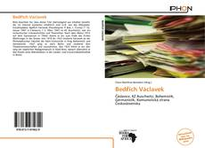 Обложка Bedřich Václavek