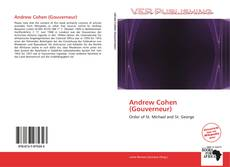 Bookcover of Andrew Cohen (Gouverneur)