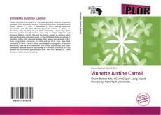 Capa do livro de Vinnette Justine Carroll