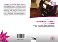 University of California School of Law的封面