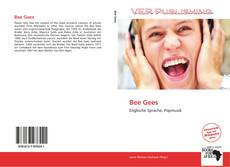 Bookcover of Bee Gees