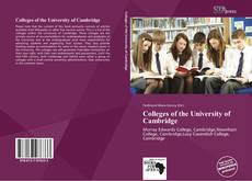 Capa do livro de Colleges of the University of Cambridge