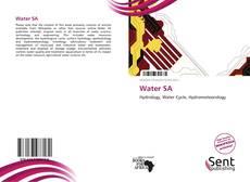 Buchcover von Water SA