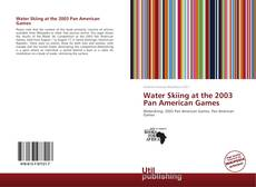 Capa do livro de Water Skiing at the 2003 Pan American Games