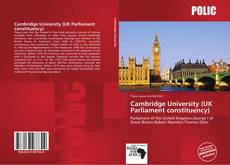 Обложка Cambridge University (UK Parliament constituency)
