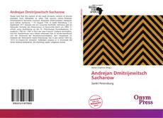 Andrejan Dmitrijewitsch Sacharow的封面