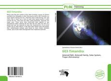 Bookcover of 603 Timandra