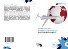 Copertina di Beechcraft Premier I