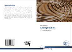 Andrejs Rubins kitap kapağı