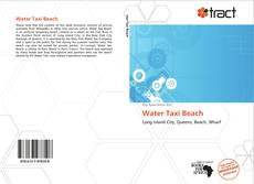 Bookcover of Water Taxi Beach
