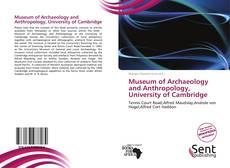 Обложка Museum of Archaeology and Anthropology, University of Cambridge
