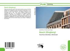 Portada del libro de Beeck (Wegberg)