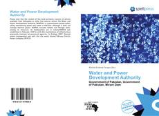 Bookcover of Water and Power Development Authority