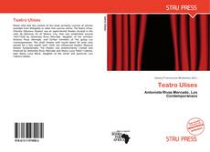 Buchcover von Teatro Ulises