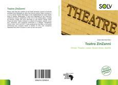Capa do livro de Teatro ZinZanni