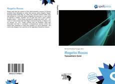 Bookcover of Rogelio Roxas