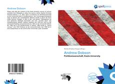 Bookcover of Andrew Dobson